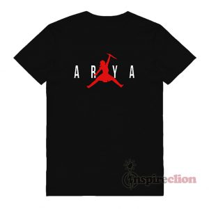 Air Arya Stark Parody Game Of Thrones T-shirt