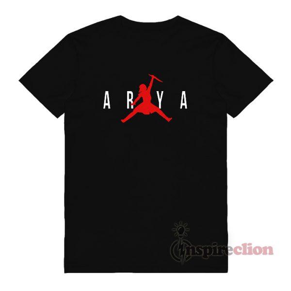 Air Arya Stark Parody Game Of Thrones T-shirt