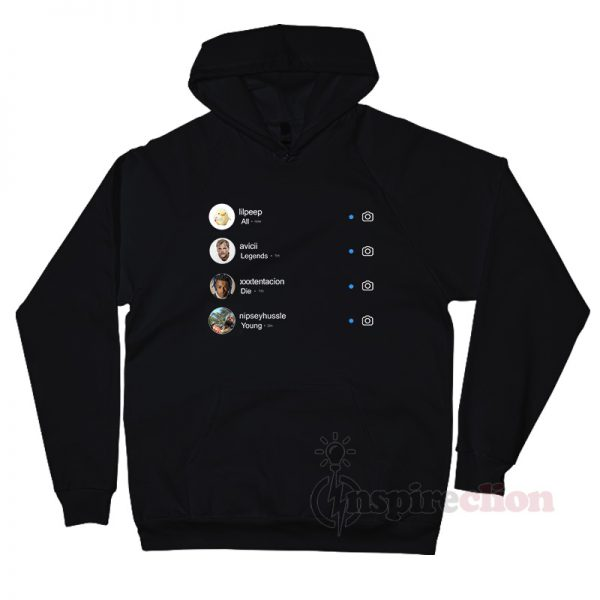 All Legends Die Young Instagram Hoodie