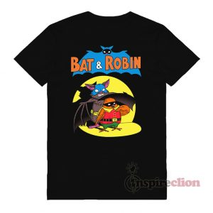 Bat & Robin x Style Batman And Robin T-Shirt