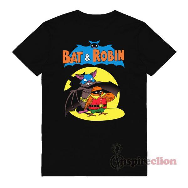 Bat & Robin x Style Batman And Robin T-Shirt