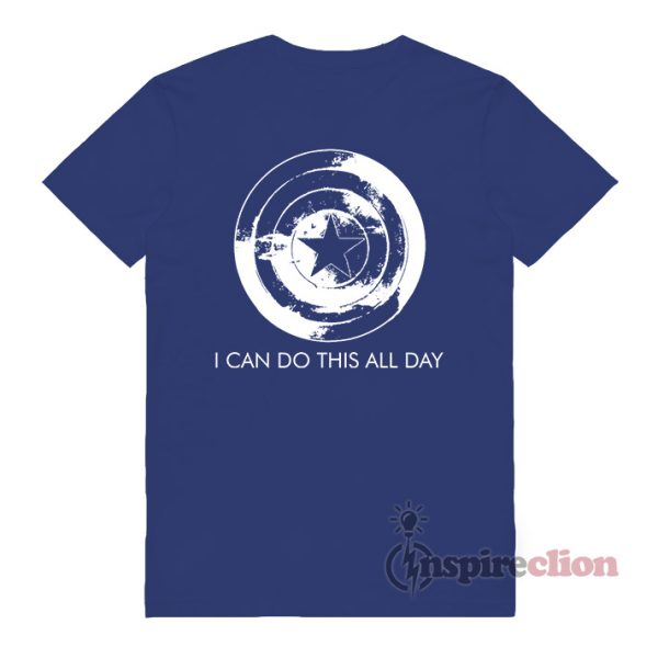 I Can Do This All Day Captain Steve Roger T-Shirt