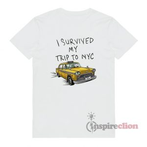 I Survived My Trip To NYC Tom Holland Spider-Man T-Shirt