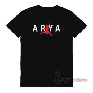 Arya Stark Jumpman Game of Thrones T-shirt