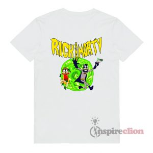 Rick And Morty x Batman & Robin Custom T-shirt