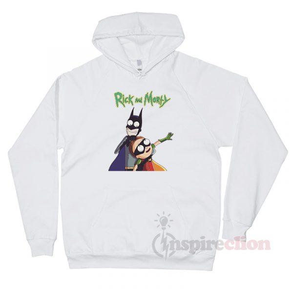 Rick And Morty x Batman & Robin Style Hoodie