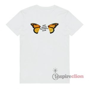 Anti Social Butterfly Club T-shirt