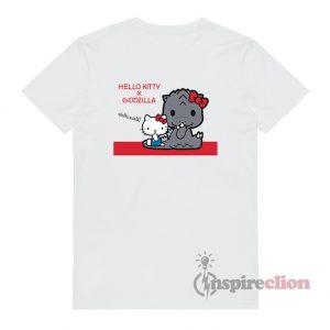 Hello Kitty x Godzilla Funny T-Shirt
