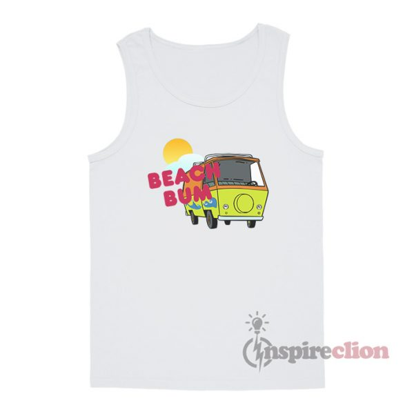 Beach Bum Summer Funny Tank Top