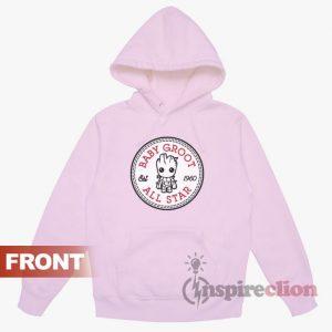 Baby Groot All Star Converse Hoodie