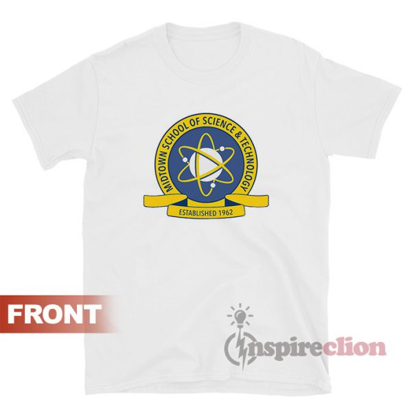 Midtown School Of Science And Technology Spider-Man T-Shirt