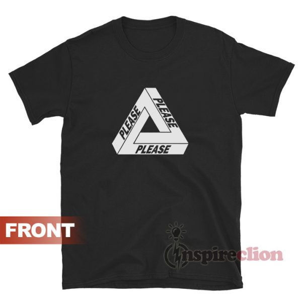 Please Palace Parody Logo T-shirt