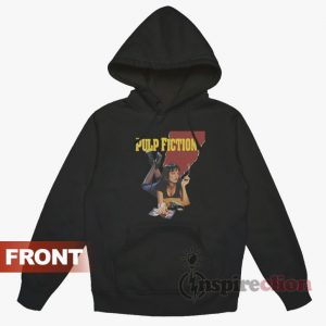 Pulp Fiction Mia Wallace Quentin Tarantino Hoodie