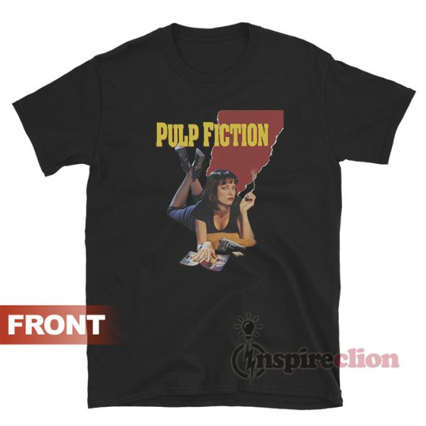 Pulp Fiction Mia Wallace Quentin Tarantino T-Shirt