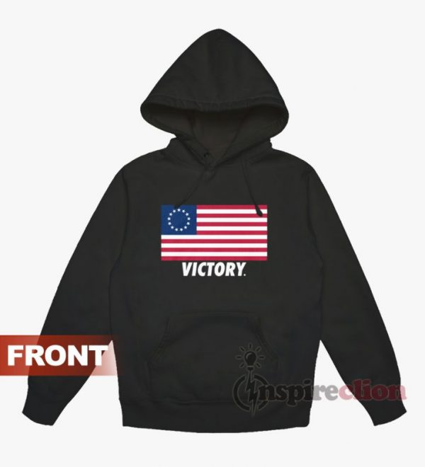 Betsy Ross Flag Victory Hoodie