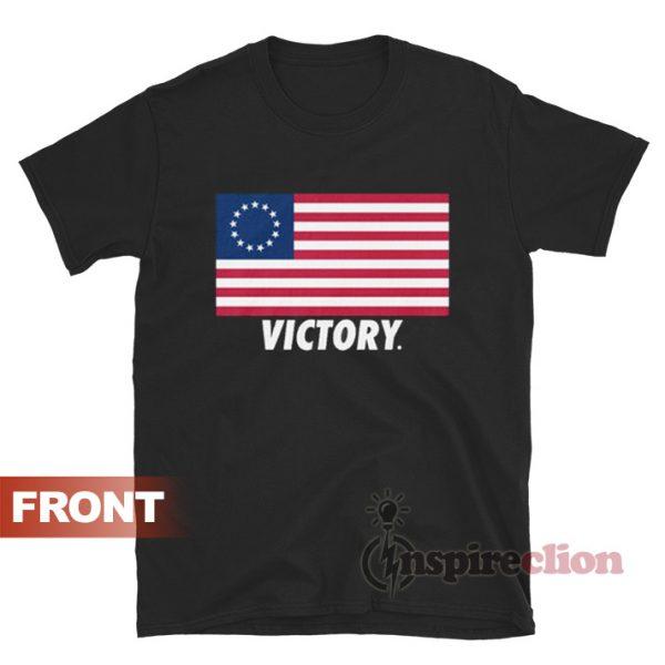 Rush Limbaugh Betsy Ross Flag T-shirt