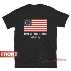 Rush Limbaugh Signature Betsy Ross Flag T-shirt