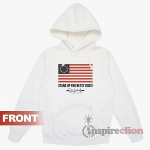 Rush Limbaugh Signature Betsy Ross Flag Hoodie