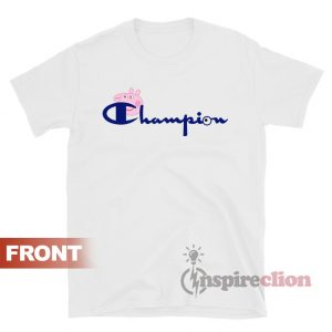 Champion Vintage Logo Collab Peppa Pig T-shirt