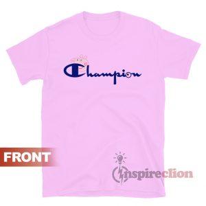 Champion Vintage Logo Collab Peppa Pig T-shirt
