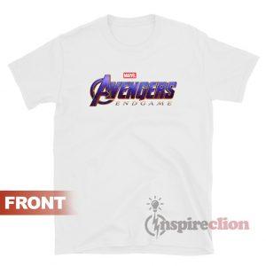 Avenger End Game Logo Marvels T-Shirt