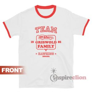 Team Griswold Family Hawkins Indiana Stranger Things Ringer T-shirt