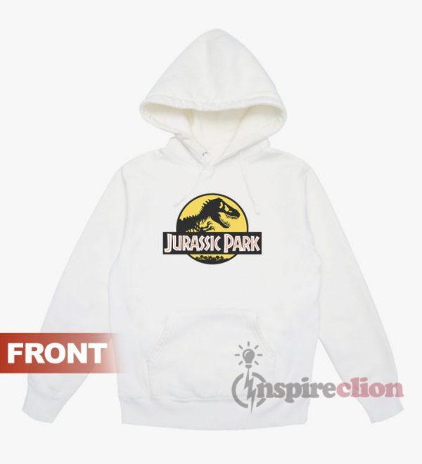 Jurassic Park T Rex Graphic Logo Crew Neck Hoodie