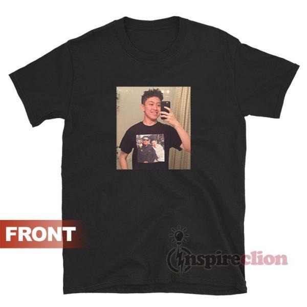 Rich Brian Selfie Himself On T-Shirt