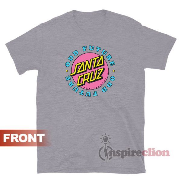 Odd Future x Santa Cruz T-shirt