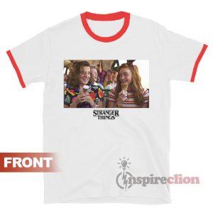 SCI-FI Stranger Things 3 Character Ringer T-shirt