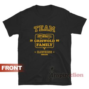 Team Griswold Family Hawkins Indiana Stranger Things T-shirt