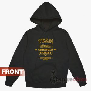 Team Griswold Family Hawkins Hoodie Stranger Things