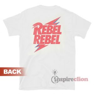 David Bowie Rebel Bolt T-shirt