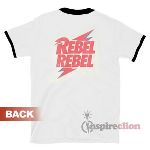 David Bowie Rebel Ringer T-shirt