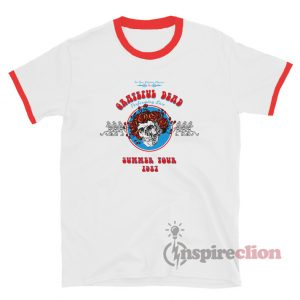 Grateful Dead Summer Tour 1987 Ringer T-Shirt