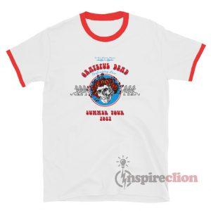 Grateful Dead Summer Tour 1987 Ringer T-Shirt