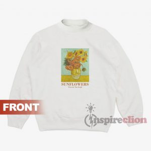 Sunflowers Vincent Van Gogh Sweatshirt