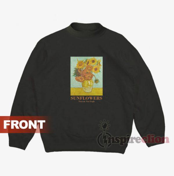 Sunflowers Vincent Van Gogh Sweatshirt