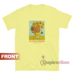 Sunflowers Vincent Van Gogh T-shirt