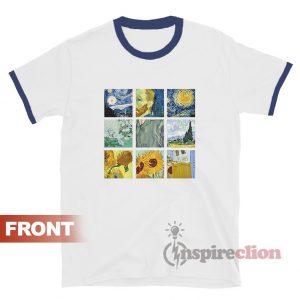 Van Gogh Ringer T-shirt Vincent Van Gogh