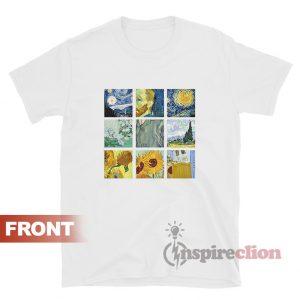 Van Gogh T-shirt Vincent Van Gogh