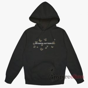 Antisocial Butterfly Hoodie Unisex