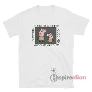 Peppa Pig Fancy GC Logo Parody Funny T-Shirt