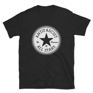 Greta Thunberg Antifa T-Shirt All Star Parody