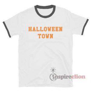 Halloween Town Ringer T-Shirt Custom