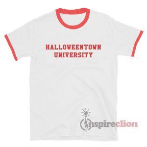 Halloweentown University Ringer T-Shirt Custom