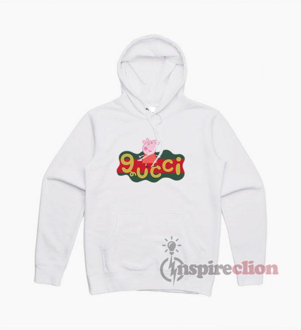 Peppa Pig X Gucci Logo Replica Hoodie