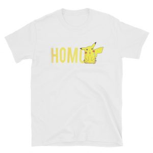 Little Yellow Pikachu Homo T-shirt