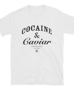 Cocaine & Caviar Crooks Castles T-shirt