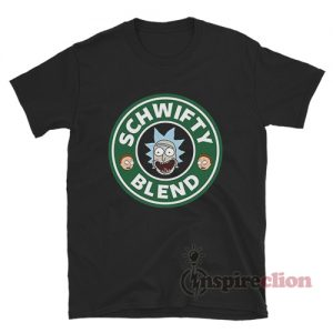 Schwifty Blend Rick and Morty Coffee T-shirt